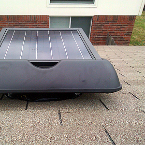 solar attic fan ventilation