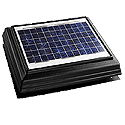 solar attic fan, solar dyanamics, attic ventilation